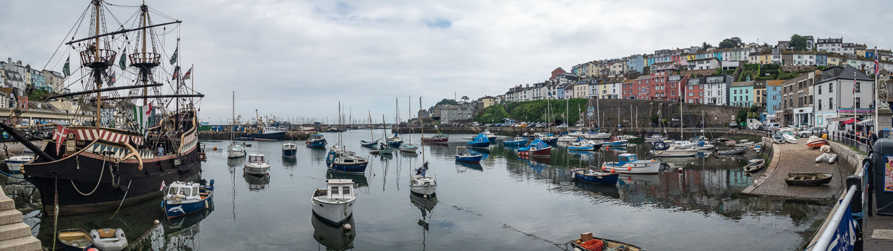 Brixham Harbour in Devon