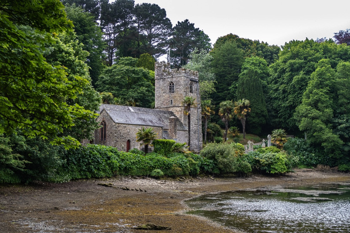 St Just-in-Roseland Church, Cornwall