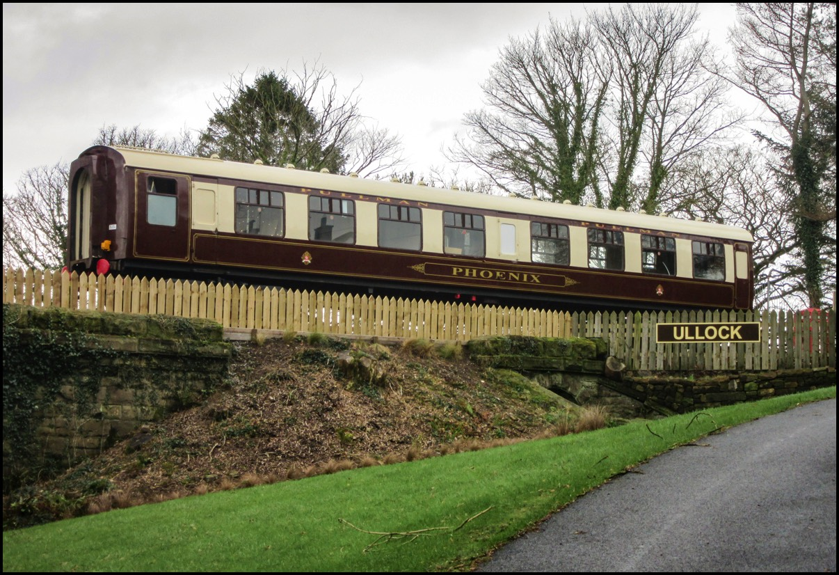Restored Pullman Carriage at Ullock.